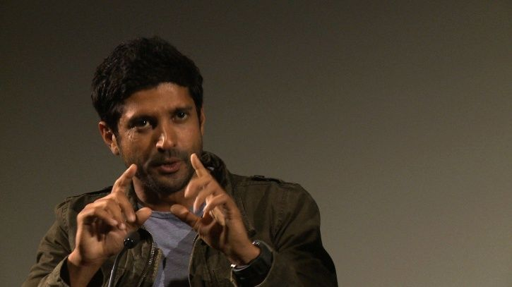 A picture of Bollywood actor Farhan Akhtar