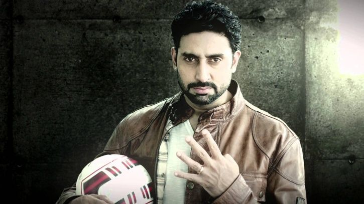 A picture of Bollywood star Abhishek Bachchan