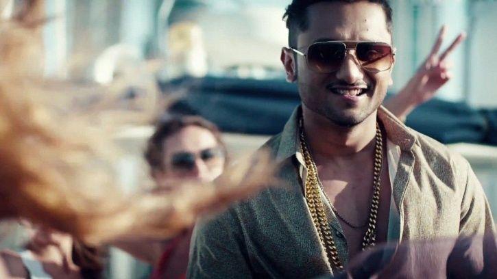 A picture of rap star Yo Yo Honey Singh