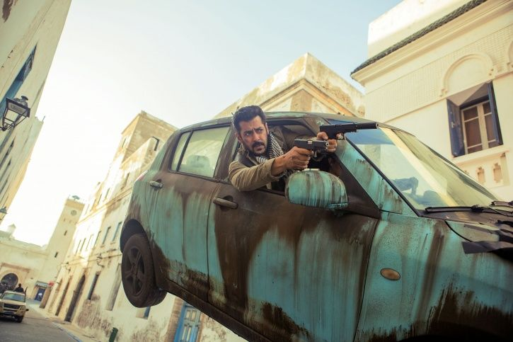 A picture of Salman Khan from Tiger Zinda Hai.
