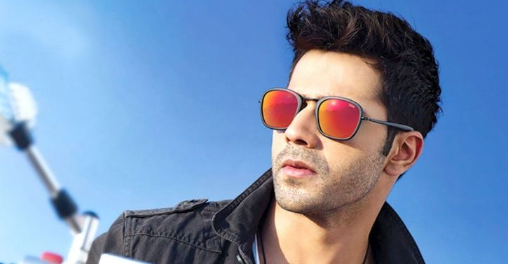 A picture of Varun Dhawan.
