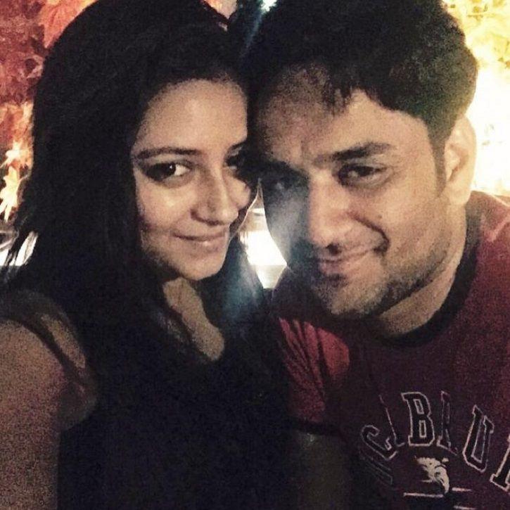 A picture of Vikas Gupta and Pratyusha Banerjee.