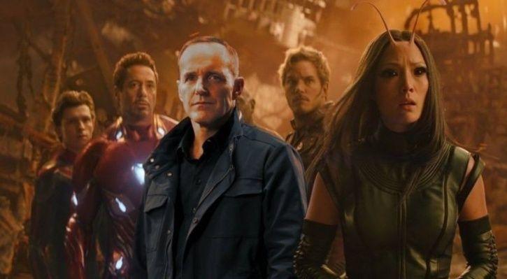 A still from Avengers: The Infinity War.