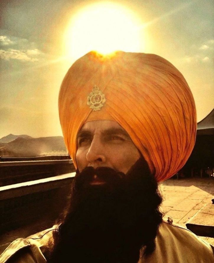 A still of Akshay Kumar from his film Kesari, which is based on the Battle of Saragarhi.