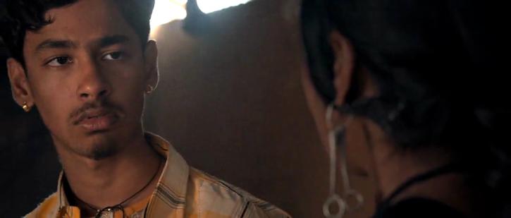A still of Bengali actor Riddhi Sen who Best Actor National Award for Bengali film Nagarkirtan.