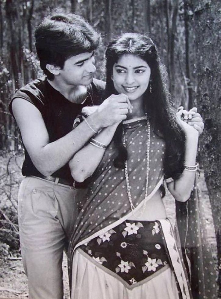Aamir and juhi Chawla