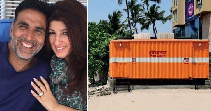 Akshay Kumar Proves He's A Real-Life Hero, Builds Toilets Worth Rs 10 Lakh At Juhu Beach!