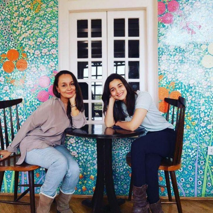 Alia Bhatt and Soni Razdan