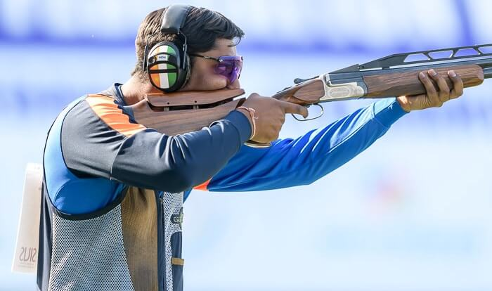 Ankur Mittal won double trap bronze
