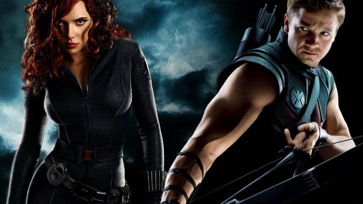 black widow hawkeye die avengers infinity war