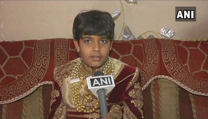 boy becomes Jain monk