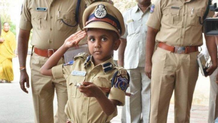 boy who became police commissioner