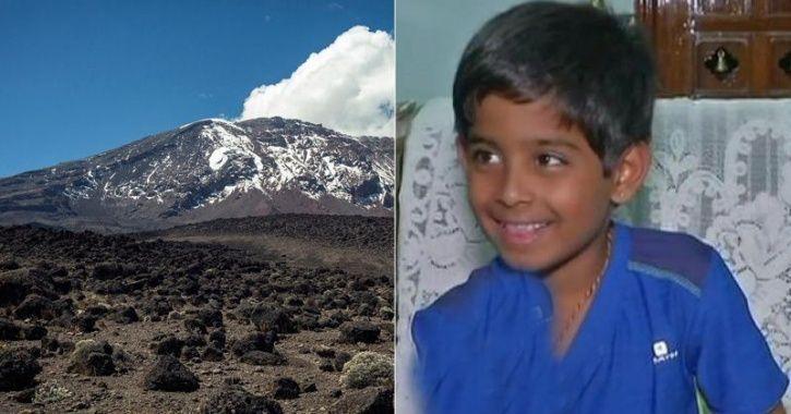 boy who climbed Africa's tallest peak