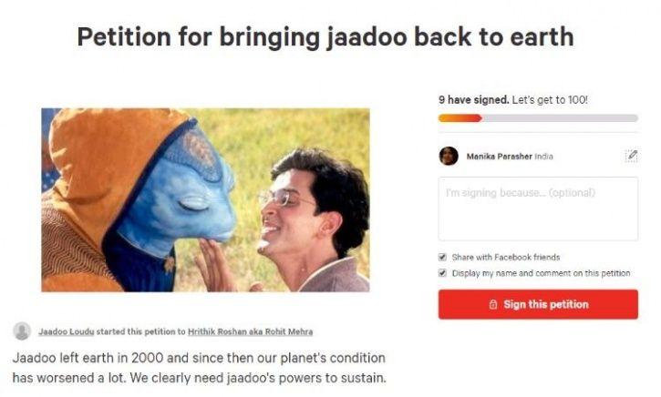 Bring back jaadoo petition