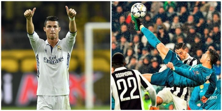 Cristiano Ronaldo is just out of this world