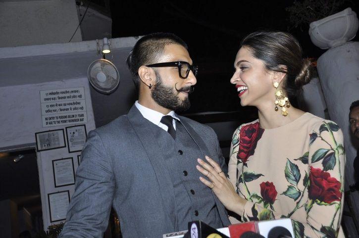 Deepika and Ranveer