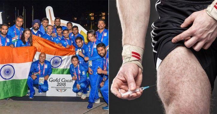 doping cwg india