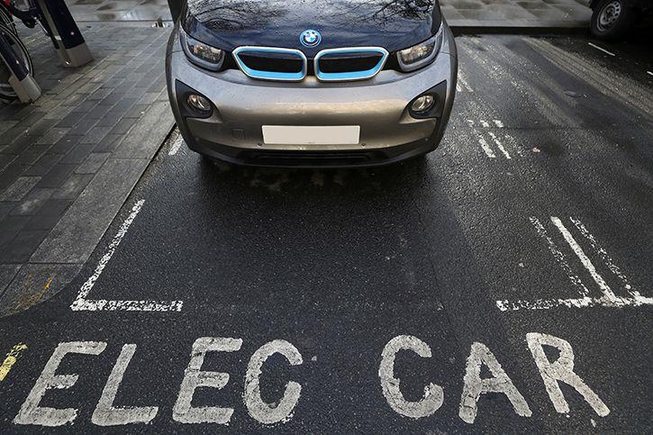 Electric car charging india