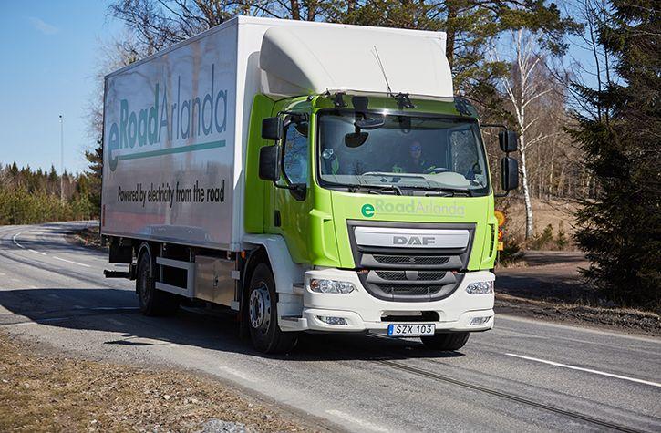 electric roads sweden