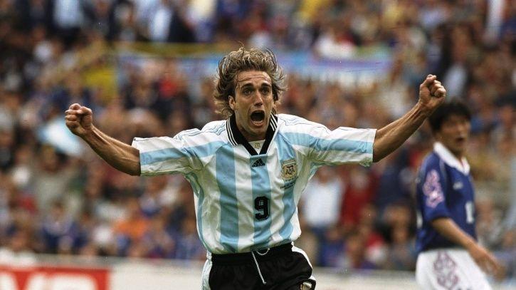 Gabriel Baristuta netted 54 goals in 77 games