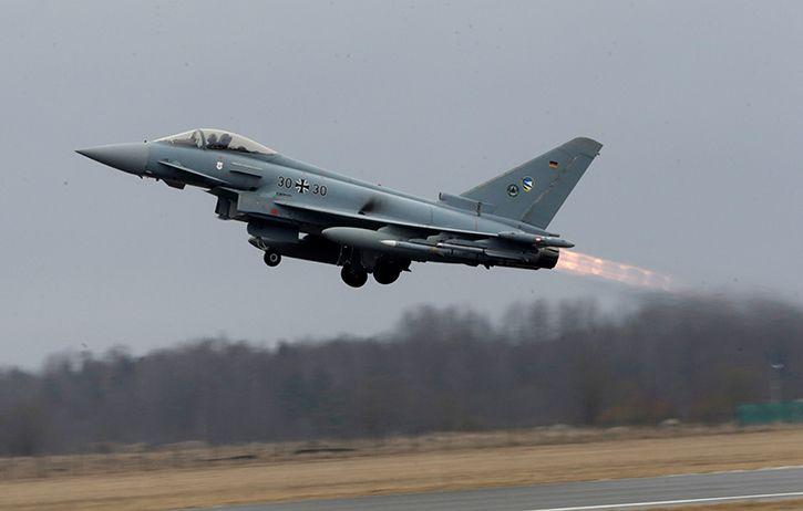 German air force typhoon