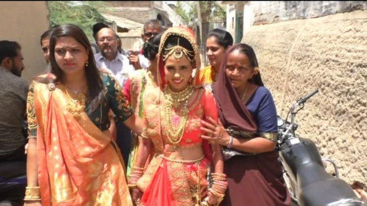 Gujarat man marries off 7 dalit girls in his daughter