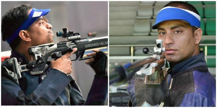 He took top honours in the 50m rifle 3 positions.