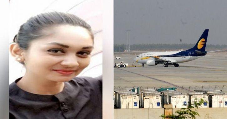 Jet air hostess Mitanshi Vaidya