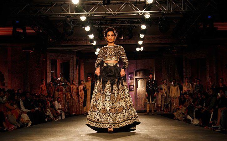 Kangana Ranaut at fashion show