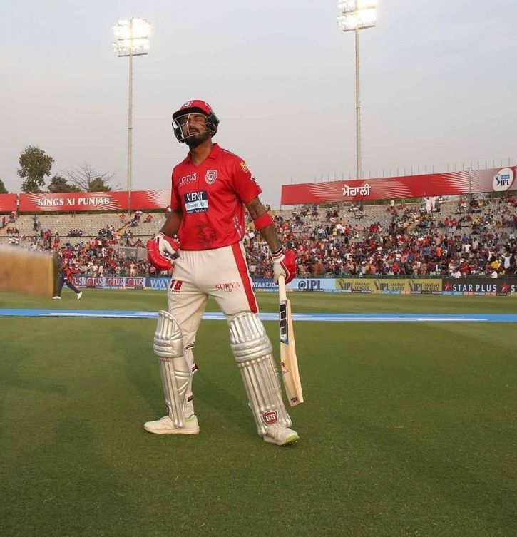 KL Rahul hit fifty in 14 balls