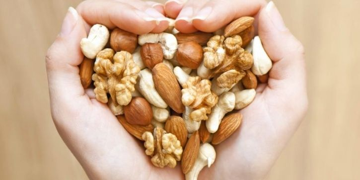 Large Amounts Of Protein From Nuts And Seeds Reduces The Risk Of Heart Diseases By 40 Percent
