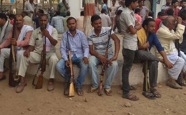 Madhya Pradesh Suspends Arm Licenses