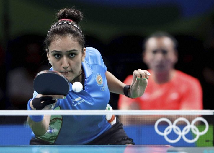 Manika Batra is ranked 58th in the world
