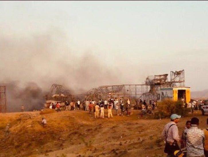 Massive Fire Breaks Out On The Sets Of Akshay Kumar's 'Kesari' As An Elaborate War Scene Goes Wrong