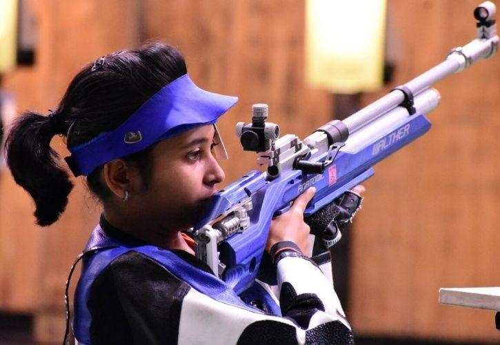 Mehuli Ghosh won silver at CWG 2018