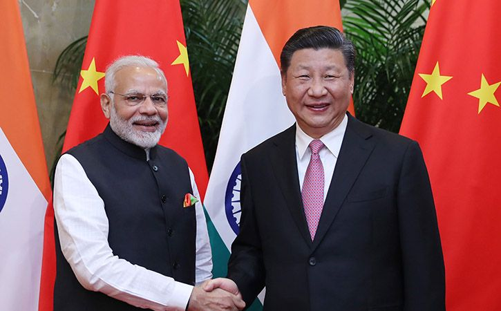 Modi and Xi