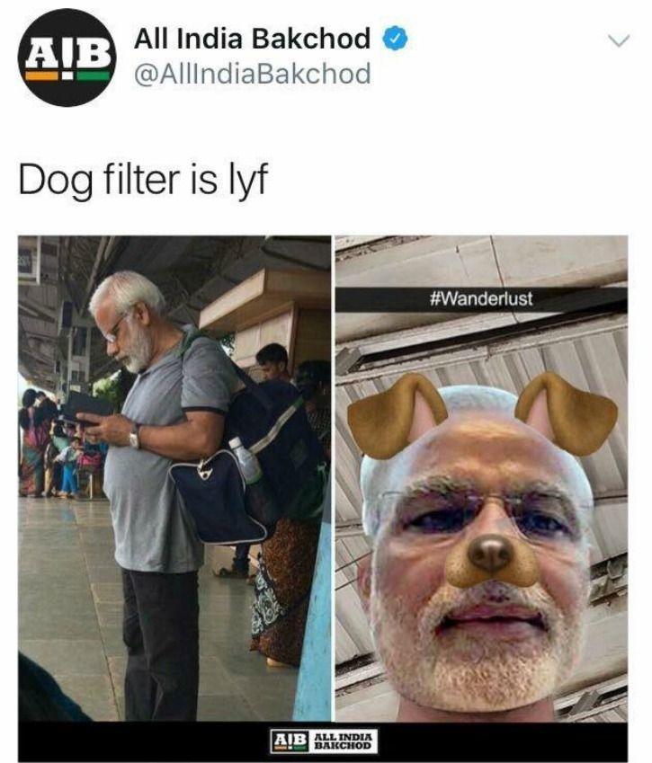 Modi Lookalike From Railway Station