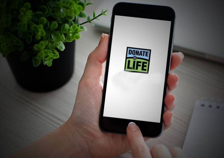 organ donation app launched
