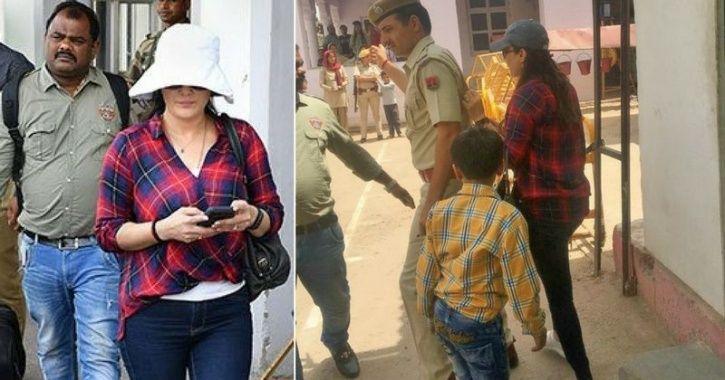 Preity Zinta outside Jodhpur jail to meet Salman Khan,