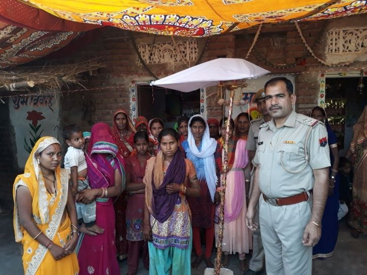 Rajasthan police sponsors village girl