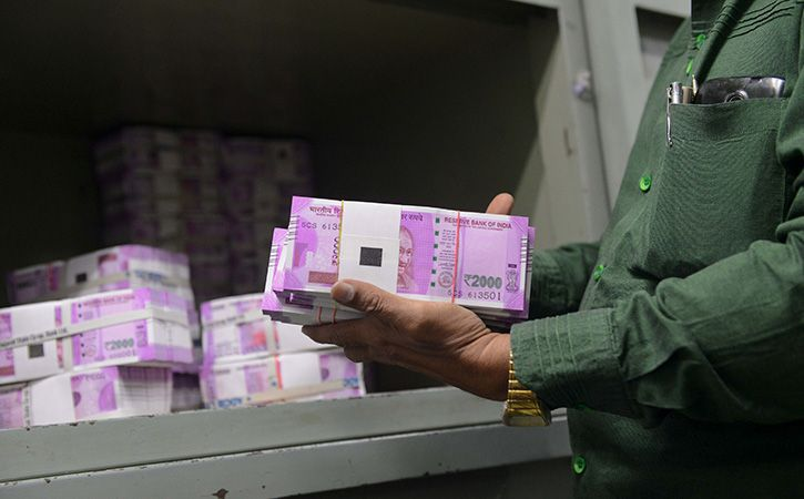 rbi data showing that people were still hoarding cash as withdrawals outpaced spending