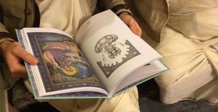 reading bhagwat geeta