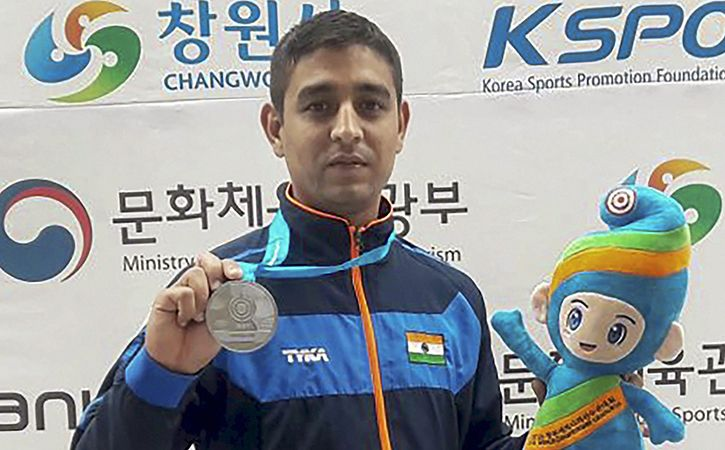 Rivzi Silver Opens India Account At ISSF World Cup