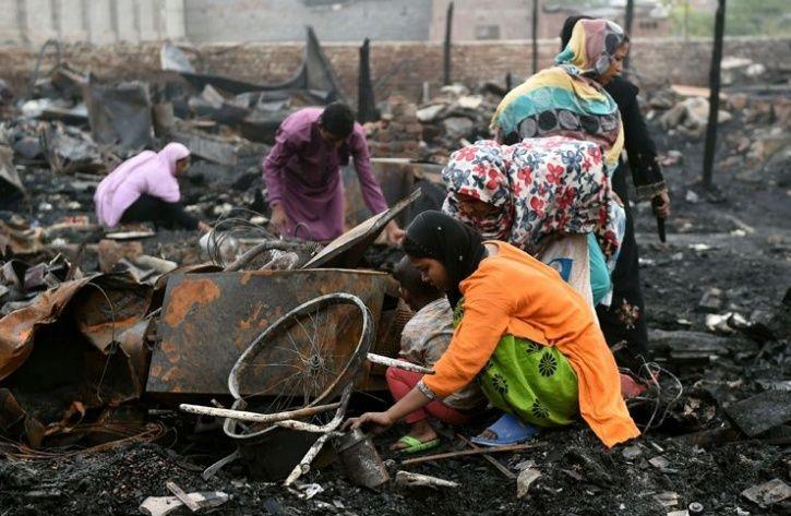 Rohingya Refugee Camp In Delhi