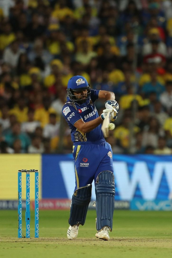 Rohit Sharma made 56 not out in 33 balls