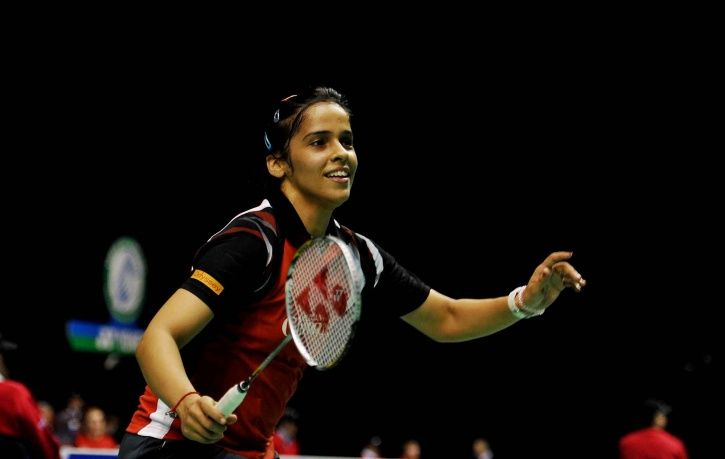Saina Nehwal beat Jia Min Yeo 21-8, 21-15