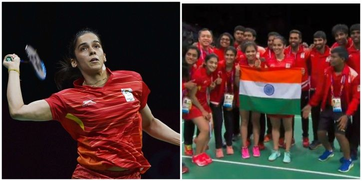 Saina Nehwal won the most important match