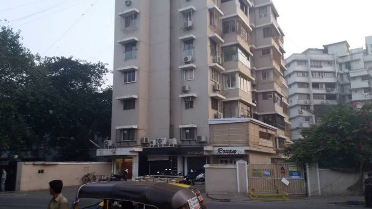 Salmna Khan home at galaxy apartments mumbai