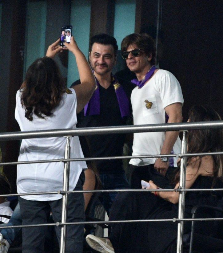 SRK and Sanjay Kapoor