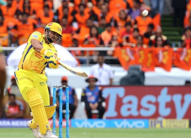 Suresh Raina made 75 not out in 47 balls